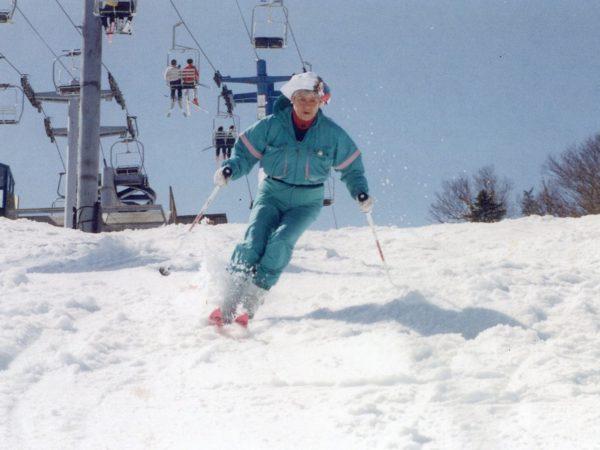 Natalie Leduc Skiing at Whiteface