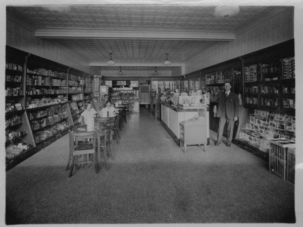 Inside Harvey's Pharmacy in Tupper Lake