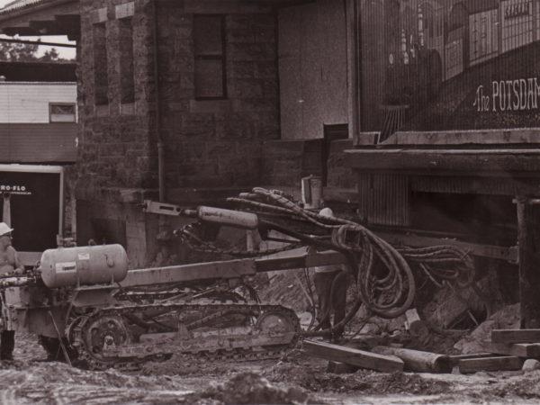 Preparing to Move the Potsdam Depot in Potsdam NY