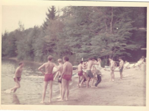 Campers from the Jerry Lewis Summer Camp in Star Lake