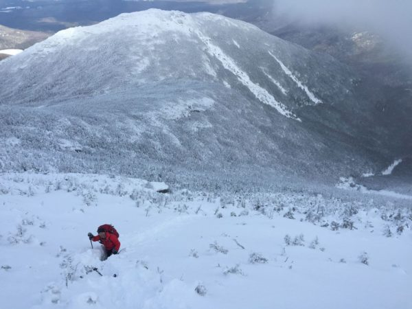 Ranger searches for missing hikers on Algonquin Peak