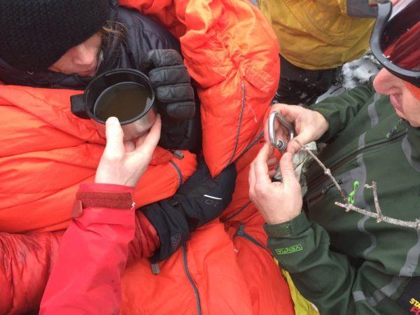 Rescue on Algonquin Peak