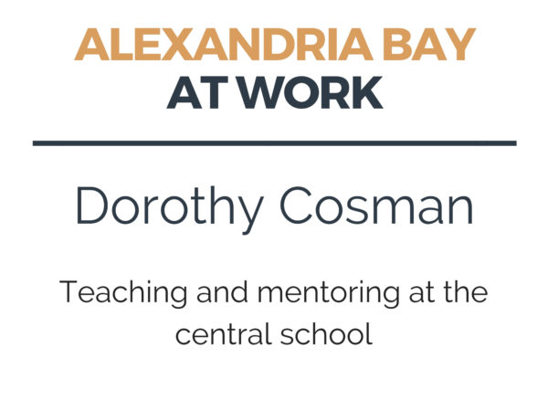 Teaching and Mentoring at the Central School in Alexandria Bay