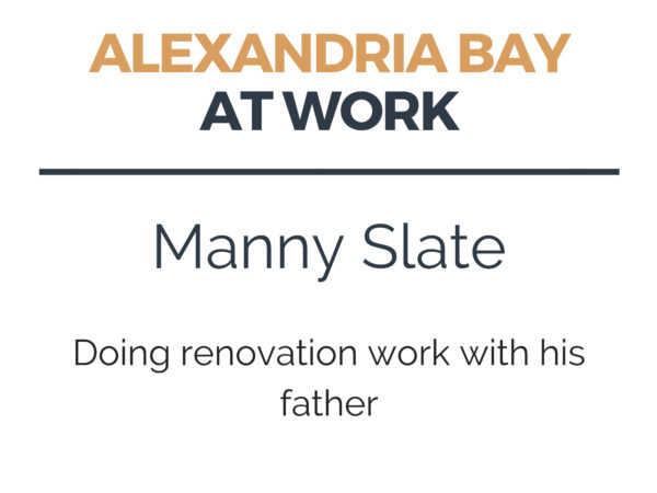 Doing renovation work in Alexandria Bay
