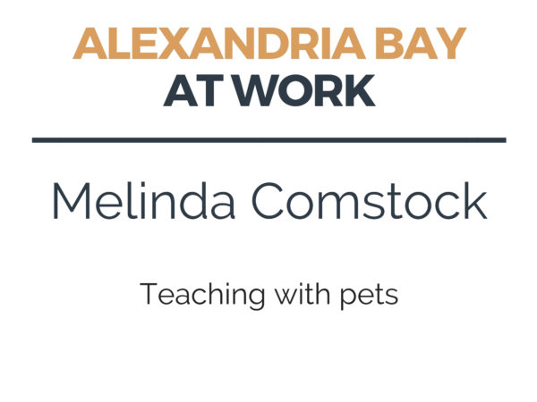 Teaching with Pets in Alexandria Bay