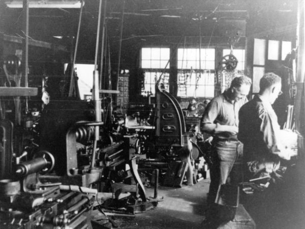 Inside Cranker's Machine Shop in Alexandria Bay