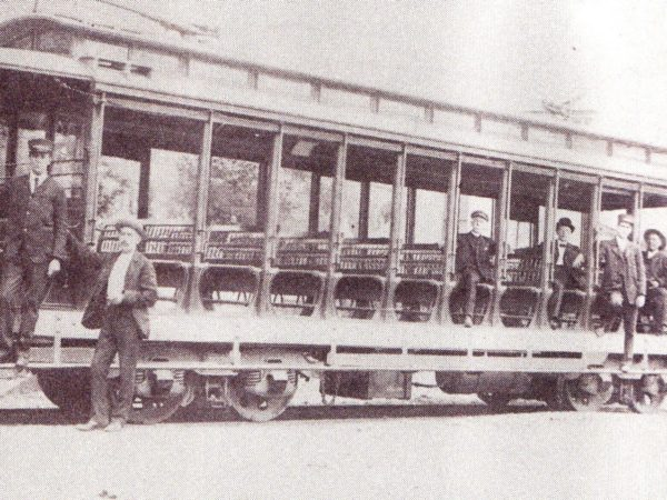 A trolley running from Redwood to Alexandria Bay