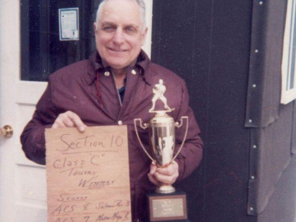 Coach George Brown in Alexandria Bay