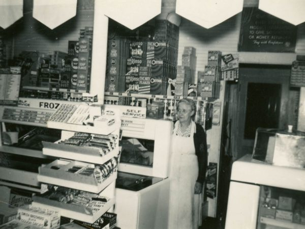 Inside the Red & White Store with Elsie P. Brown in Alexandria Bay