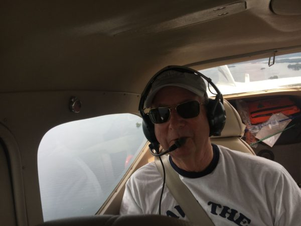 Taking a LightHawk flight over the St. Lawrence River