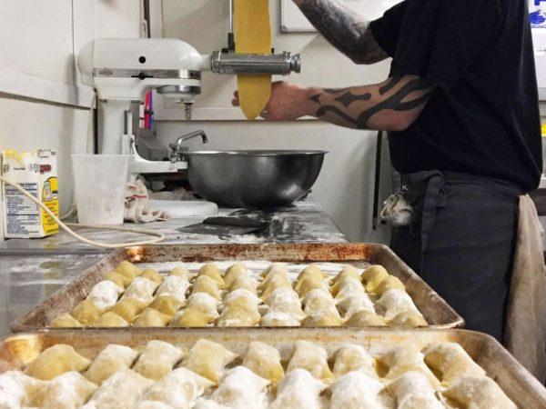 Making Pasta at Deer's Head Inn in Elizabethtown