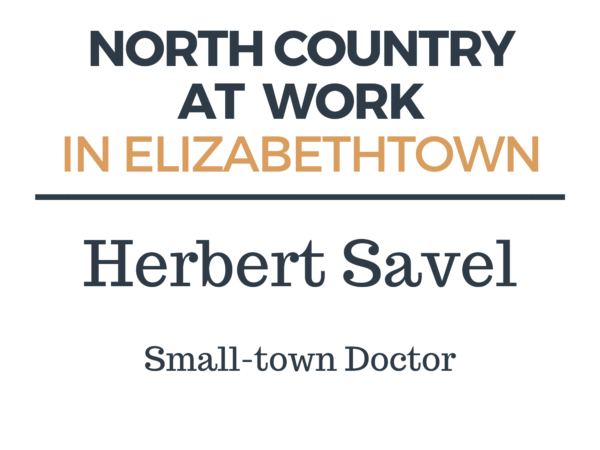 Herbert Savel small-town doctor Elizabethtown