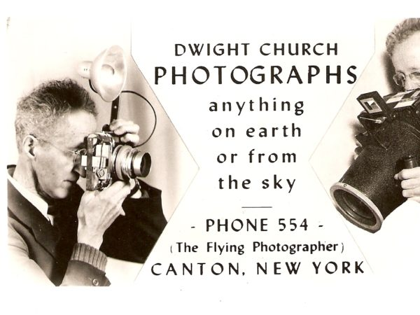 A Dwight Church Photographs advertisement