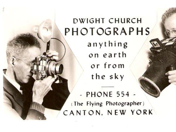 A Dwight Church Photographs advertisement