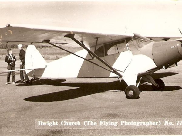 Dwight Church's plane in Canton