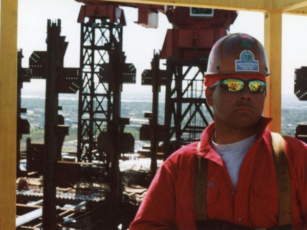 Akwesasne's Darryl Lazore on the Goldman Sachs tower