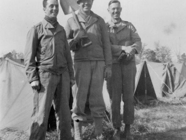 Soldiers of the 4th Armored Division at Pine Camp
