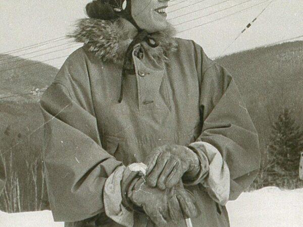 Ski instructor Natalie Leduc