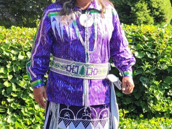 Wayne Baker modeling outfit